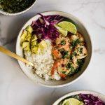 Chimichurri Shrimp Bowl