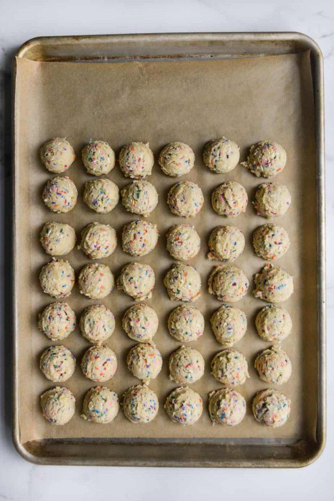 Perfect Funfetti Cookies