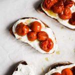 Tomato Confit & Whipped Ricotta Toasts
