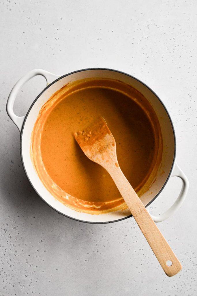Creamy Pumpkin Pasta Sauce with Sage Breadcrumbs
