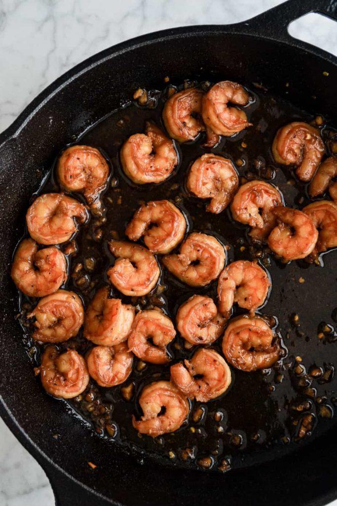 Maple Soy Shrimp
