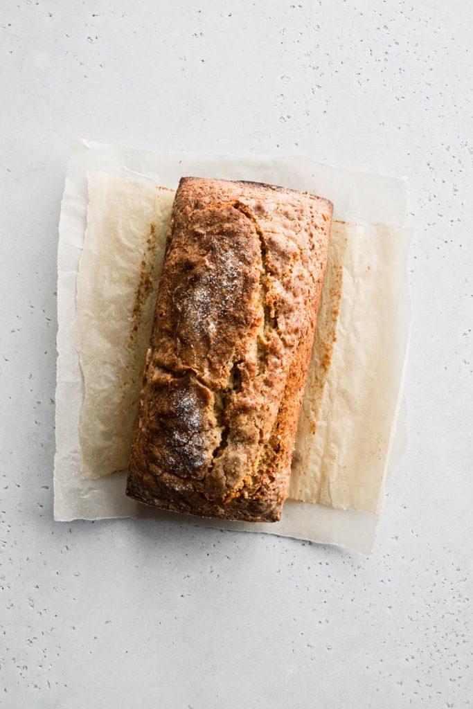 Spiced Apple Cider Loaf Cake