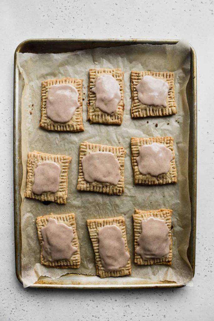 Triple Cinnamon Homemade Pop Tarts