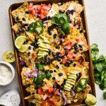 Sheet Pan Vegetarian Nachos