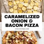 Caramelized Onion and Bacon Pizza Pin