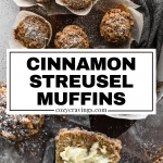 Cinnamon Streusel Muffins Long Pin