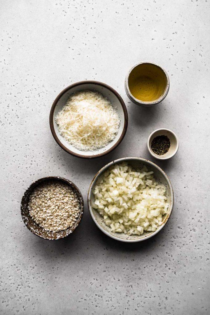 Cacio e Pepe Risotto Ingredients
